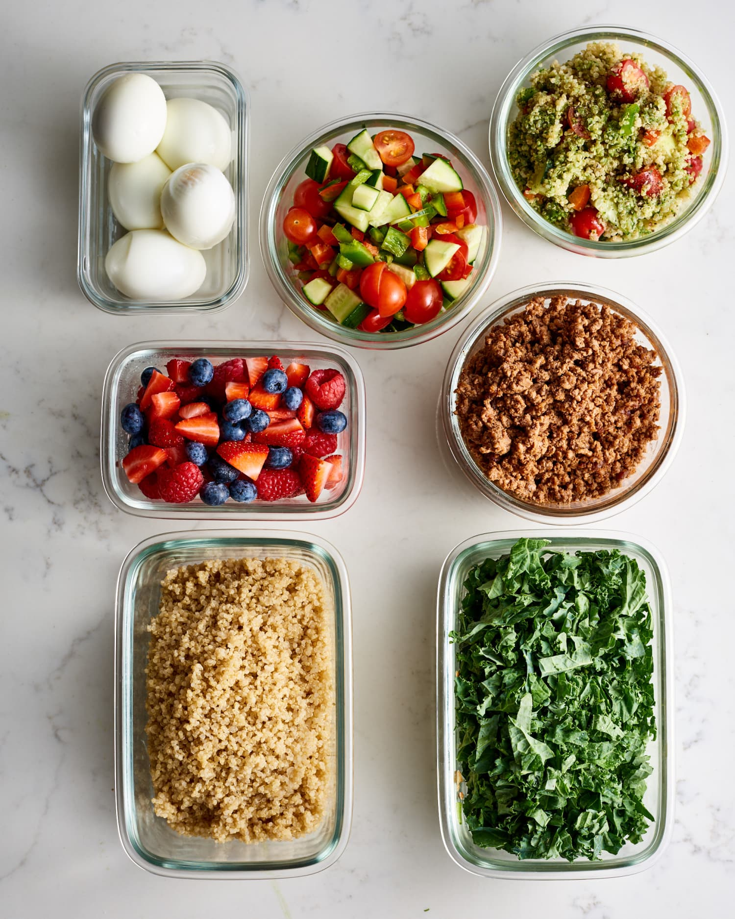 Meal Prep Plan: How I Prep a Week of Easy Mediterranean Diet Meals in Just 2 Hours