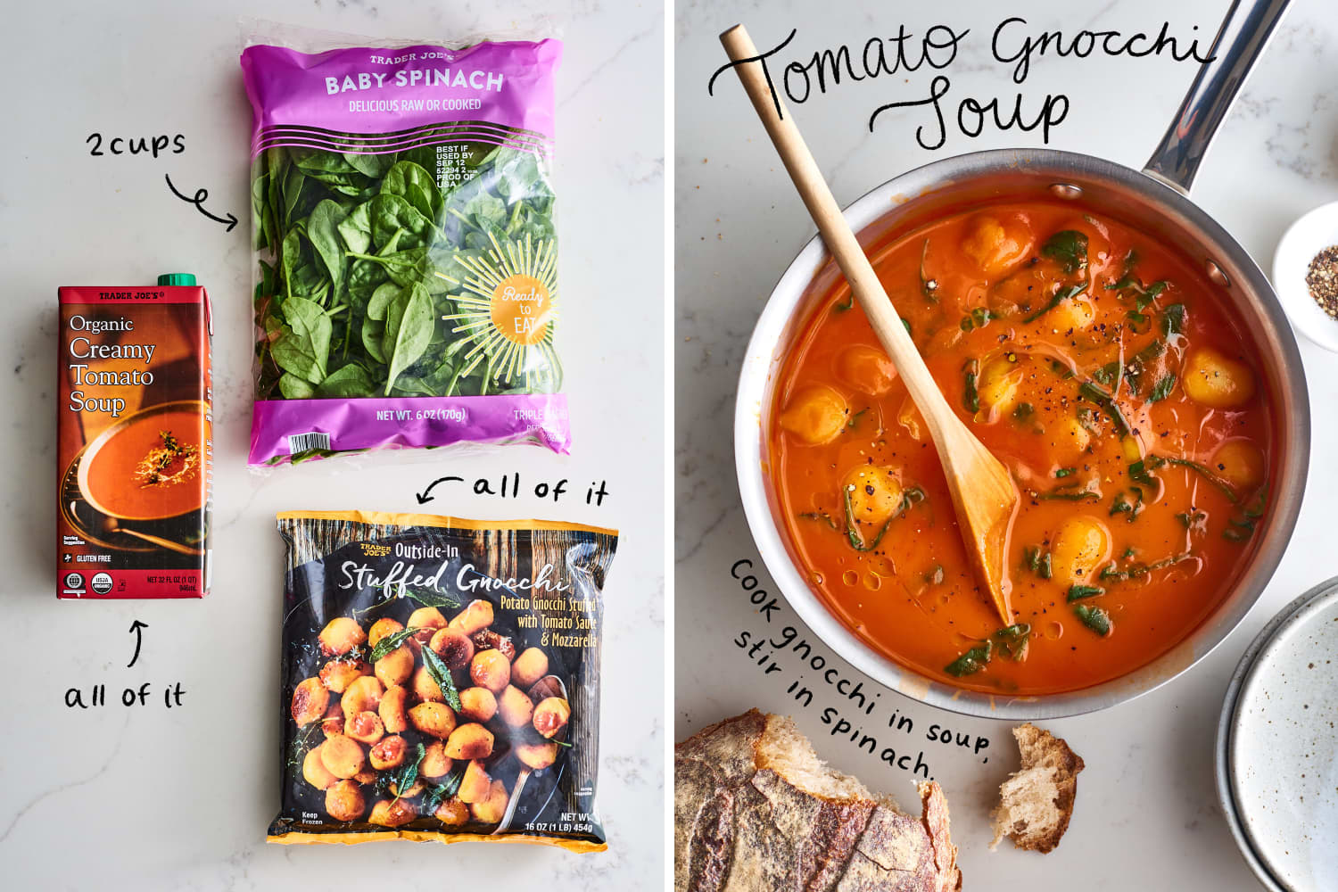 5 More Impossibly Easy 3-Ingredient Trader Joe's Dinners