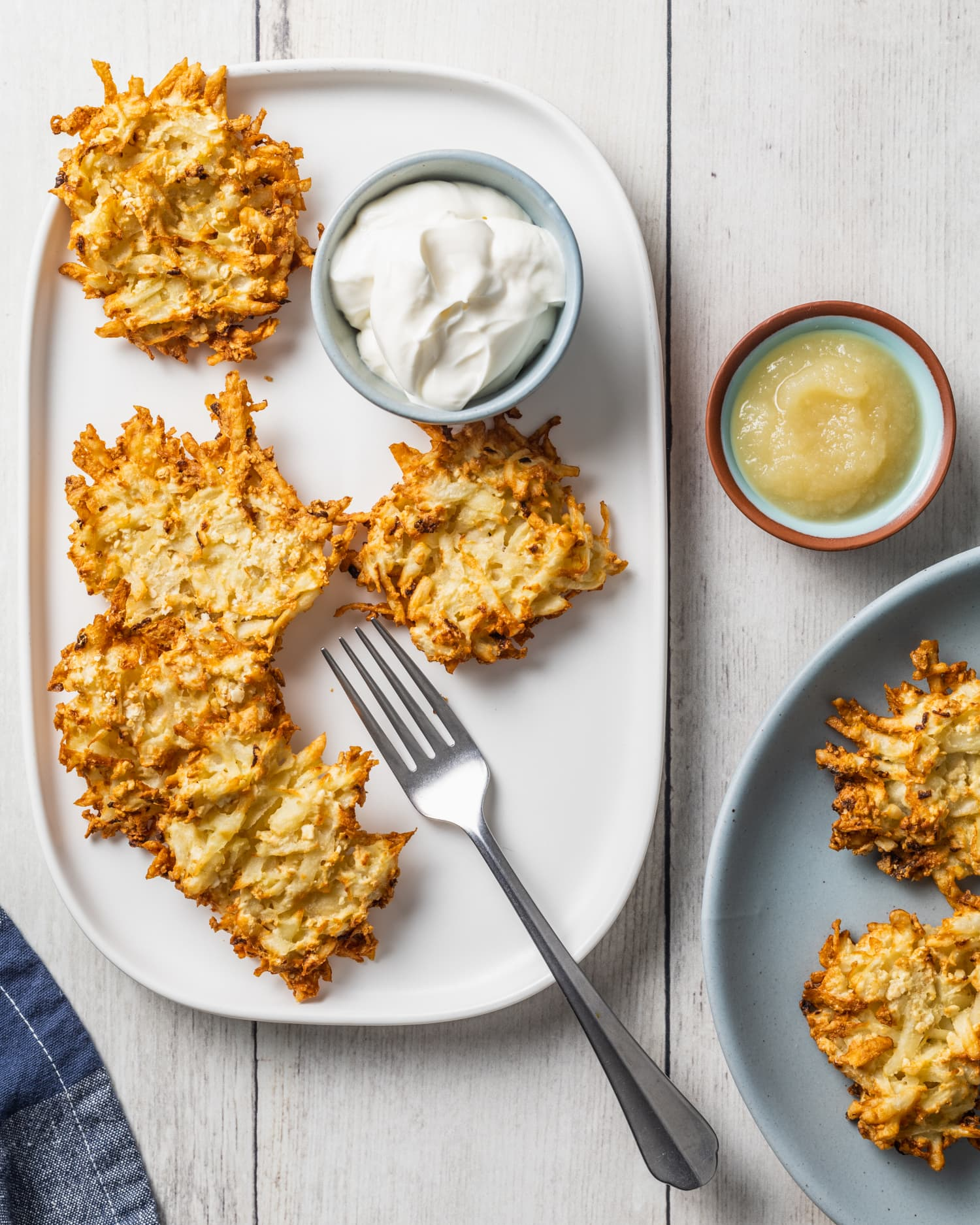 Air Fryer Latkes Are a Smashing Success