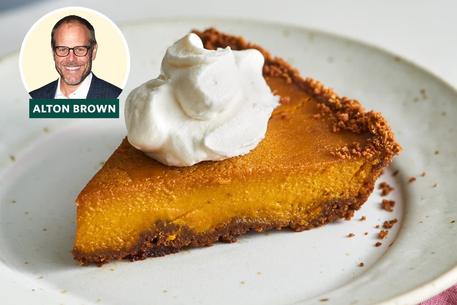 Alton Brown's Trick for Better Pumpkin Pie May Surprise You