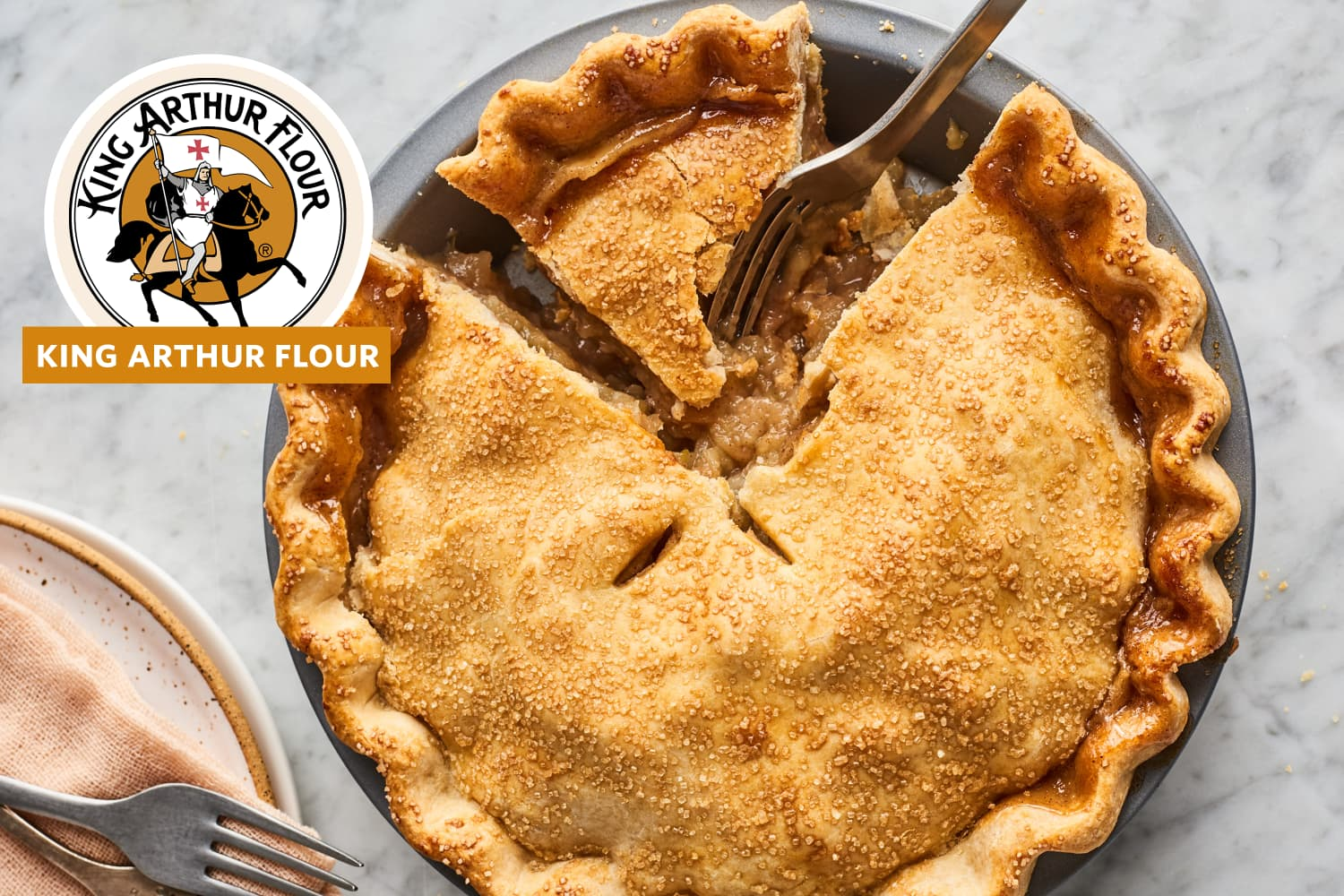 King Arthur Flour's Secret for the Best-Ever Apple Pie