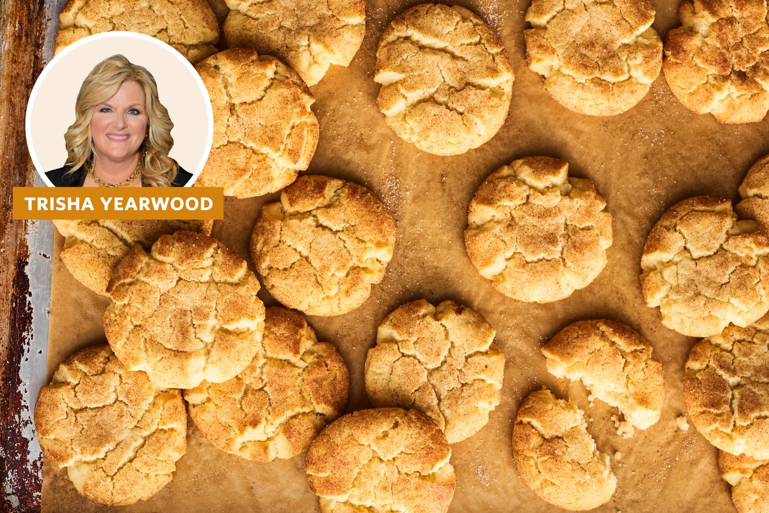 I Tried Trisha Yearwood's Incredibly Popular Snickerdoodle Recipe