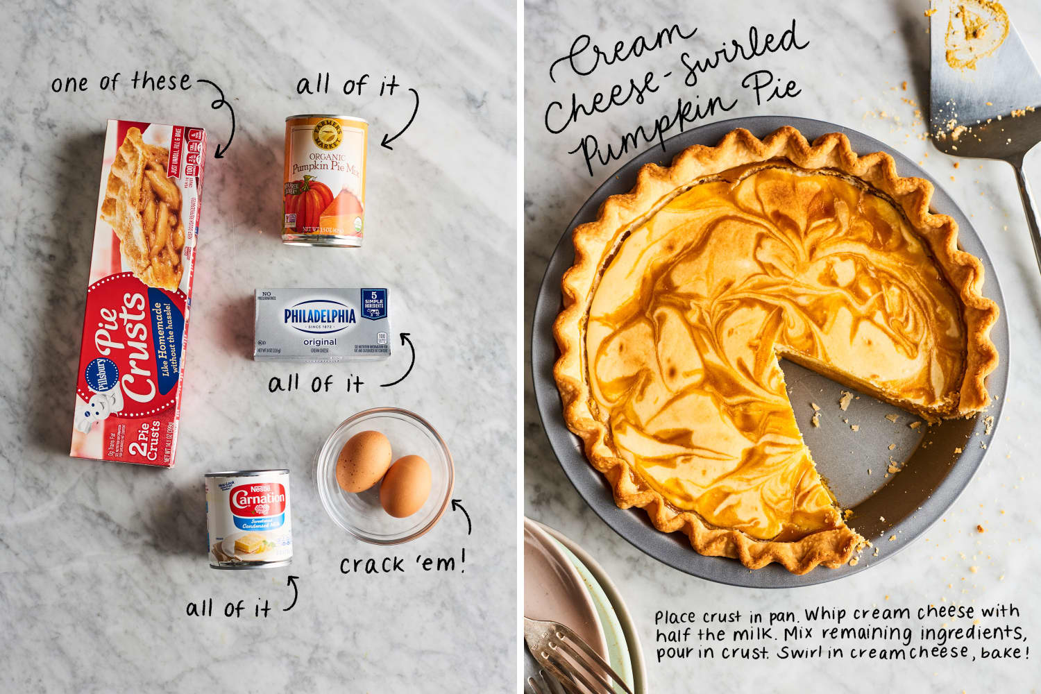 5 (5-Ingredient!) Holiday Desserts That Start with a Can of Pumpkin Pie Filling