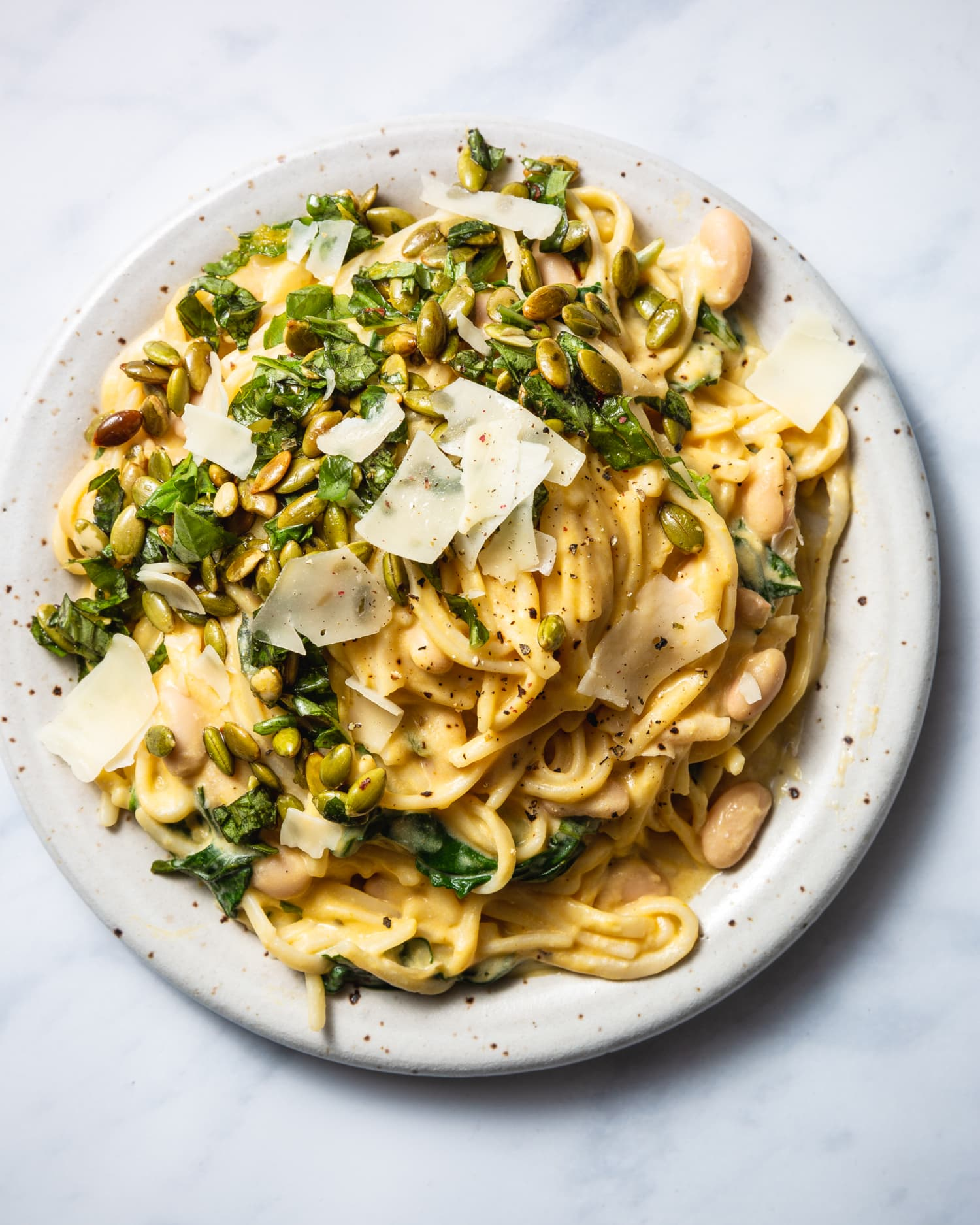 This Creamy One-Pot Pasta Is Packed with Protein