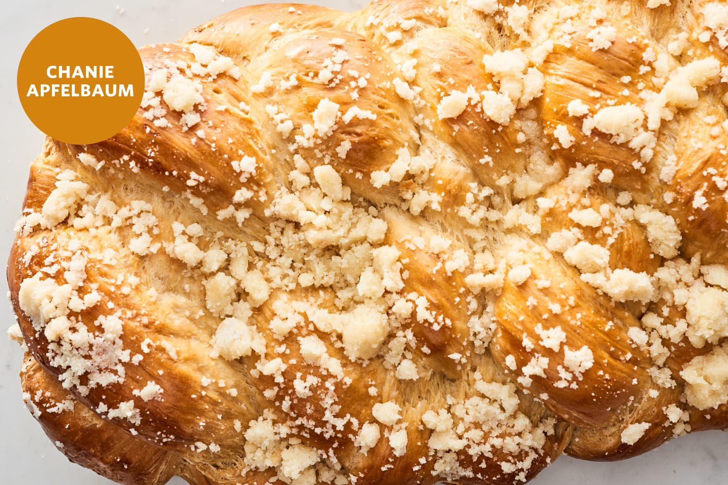 I've Been Making Challah for Decades, and This Streusel-Topped One Might Be My New Favorite