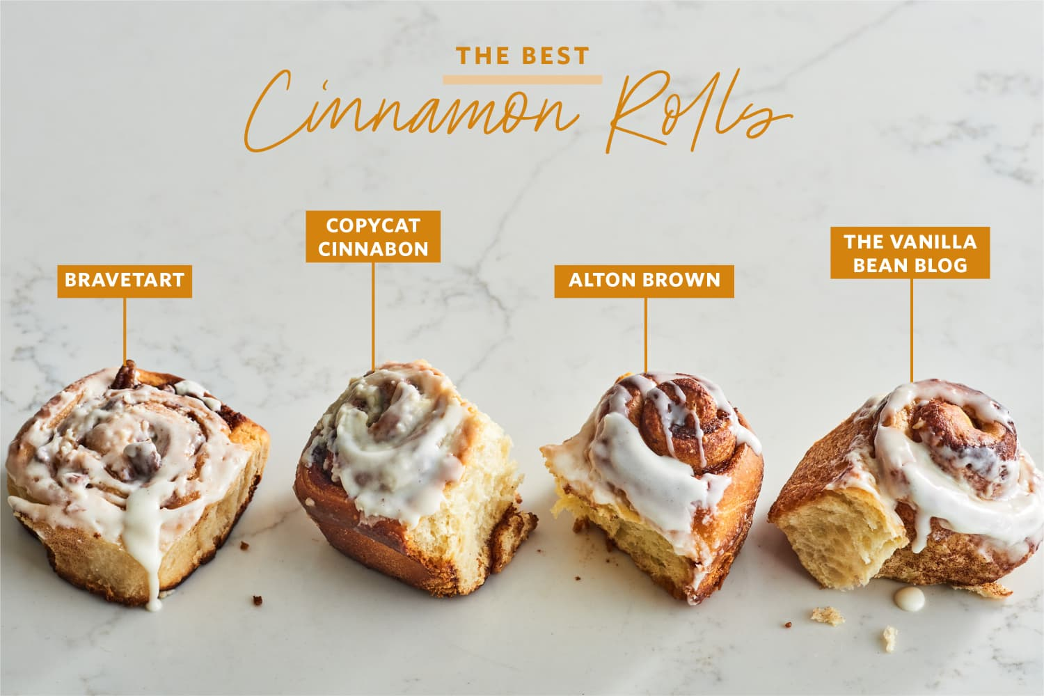 We Tried 4 Famous Cinnamon Roll Recipes and Found a Clear Winner