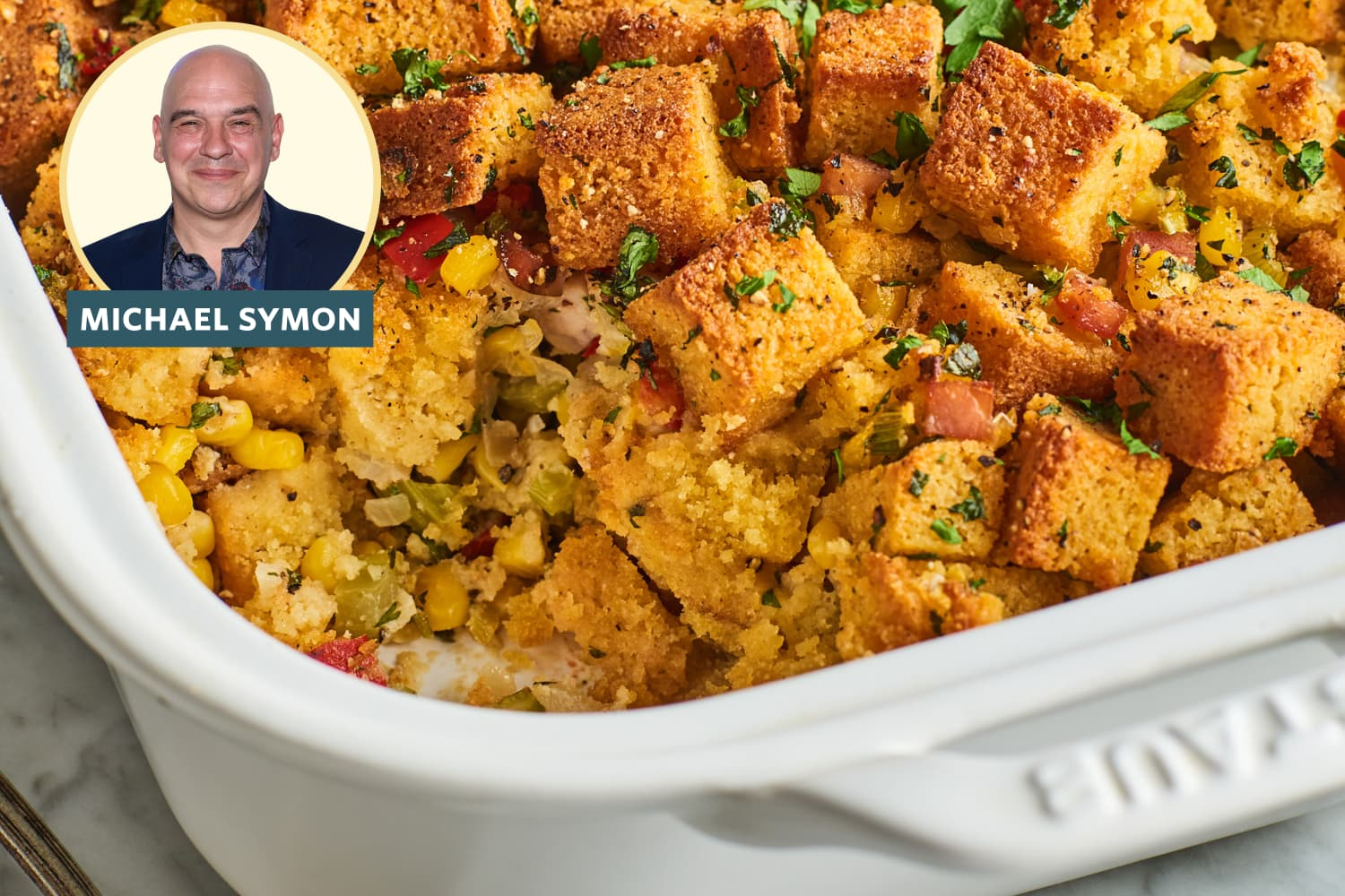 My Honest Review of Michael Symon's Rule-Breaking Cornbread Stuffing