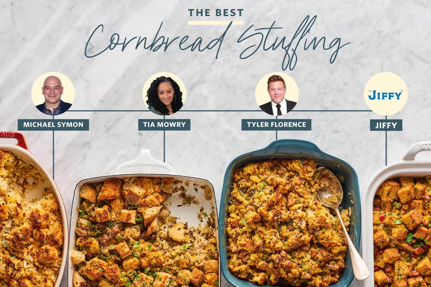 We Tested 4 Popular Cornbread Stuffing Recipes and Found a Clear Winner