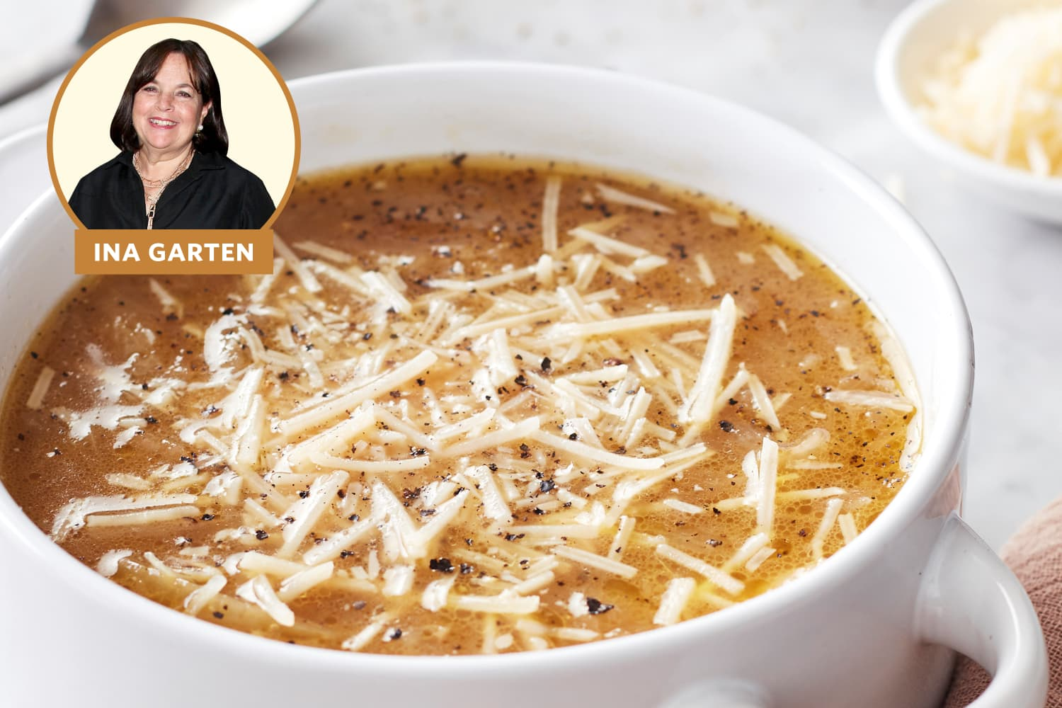 Ina Garten's French Onion Soup Recipe Has One Fatal Flaw