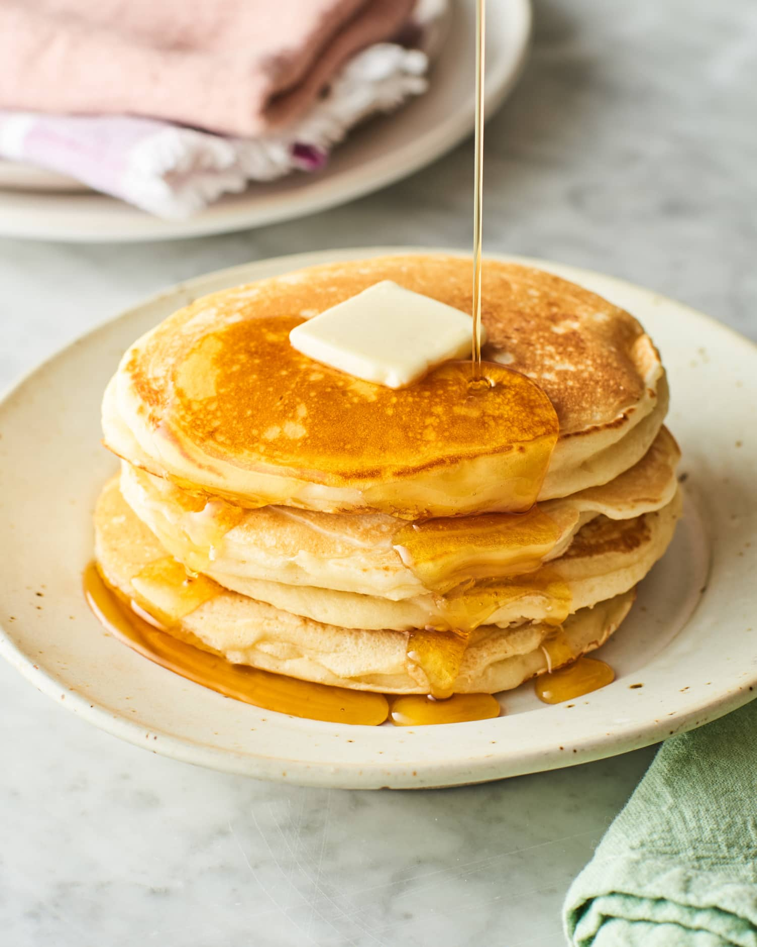 The $2 Ingredient That Makes Buttermilk Pancakes *Much* Better
