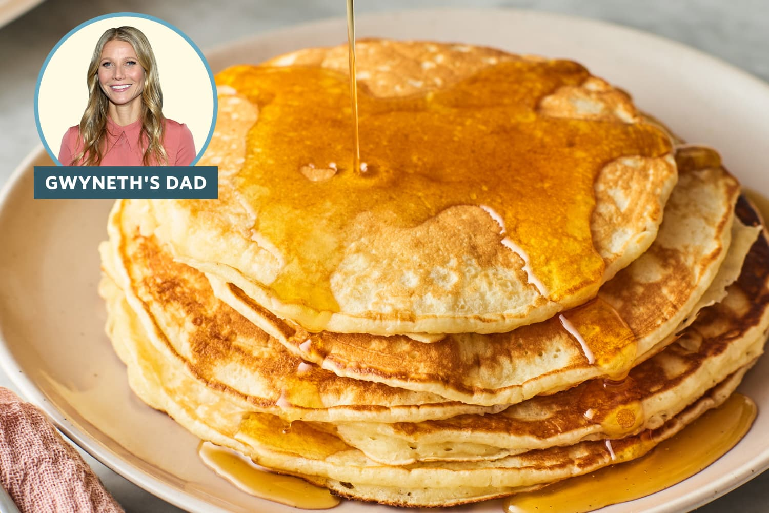 "Gwyneth's Dad's ""World-Famous"" Pancake Recipe Is the Internet's Sleeper Hit"