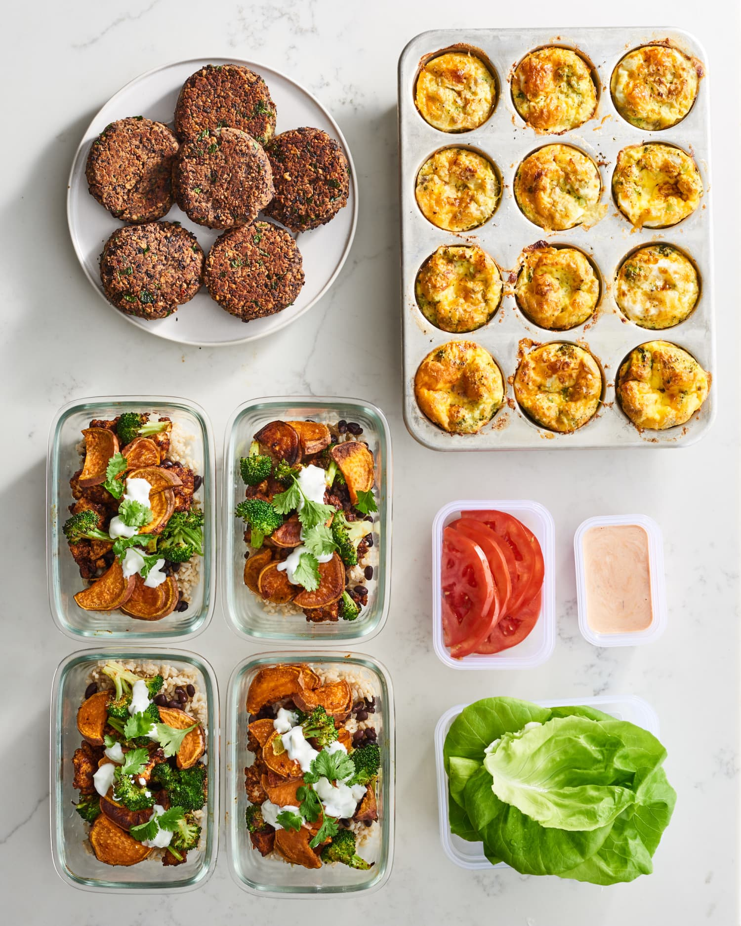 Meal Prep Plan: How I Prep a Week of High-Protein Vegetarian Meals In Just 2 Hours