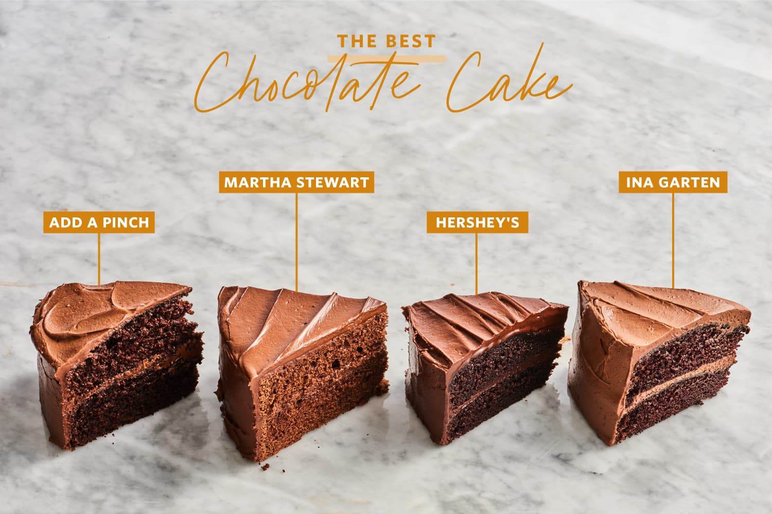 We Tested 4 Famous Chocolate Cake Recipes and Found a Clear Winner