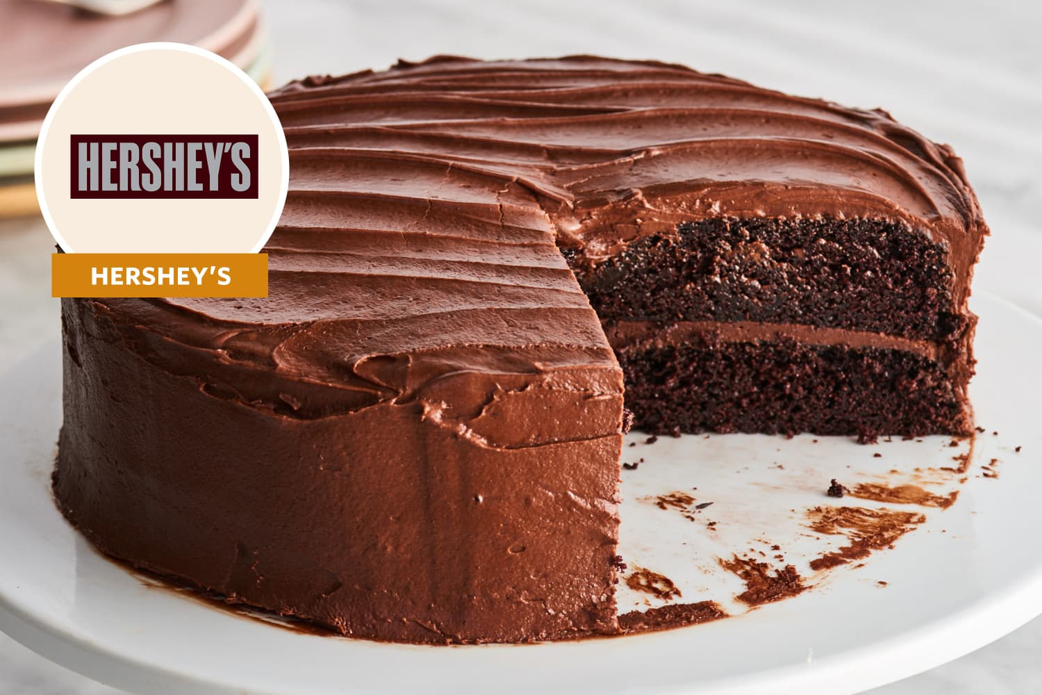 We Tried Hershey's Back-of-the-Box Chocolate Cake Recipe and Did Not Expect These Results