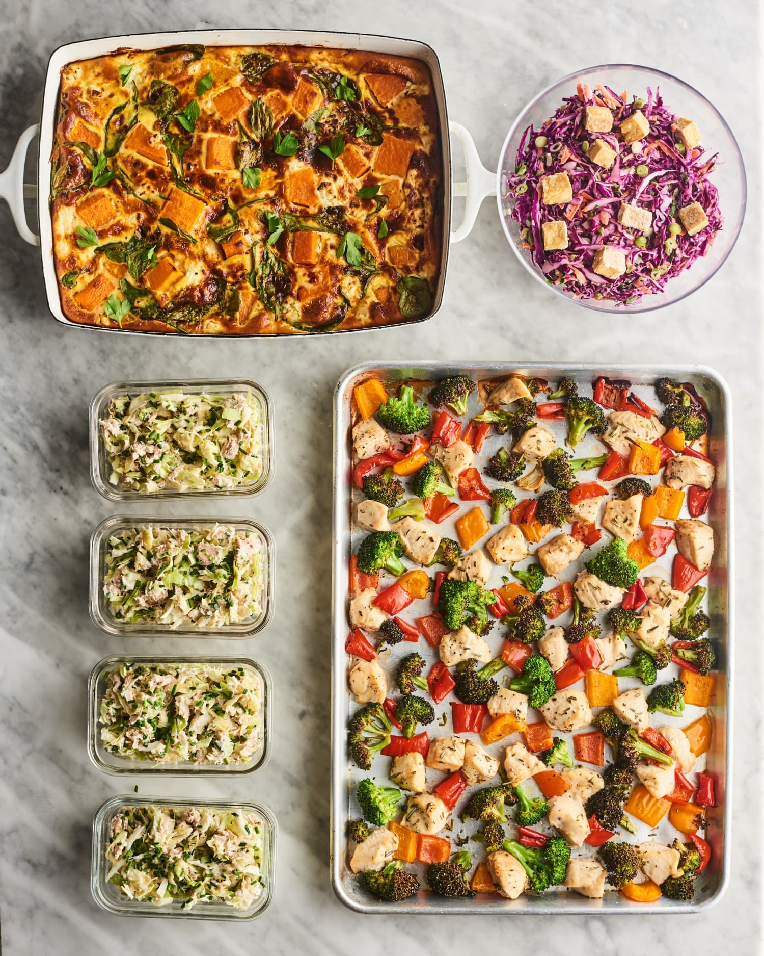 Meal Prep Plan: How I Prep a Week of Low-Carb Meals Packed with Veggies