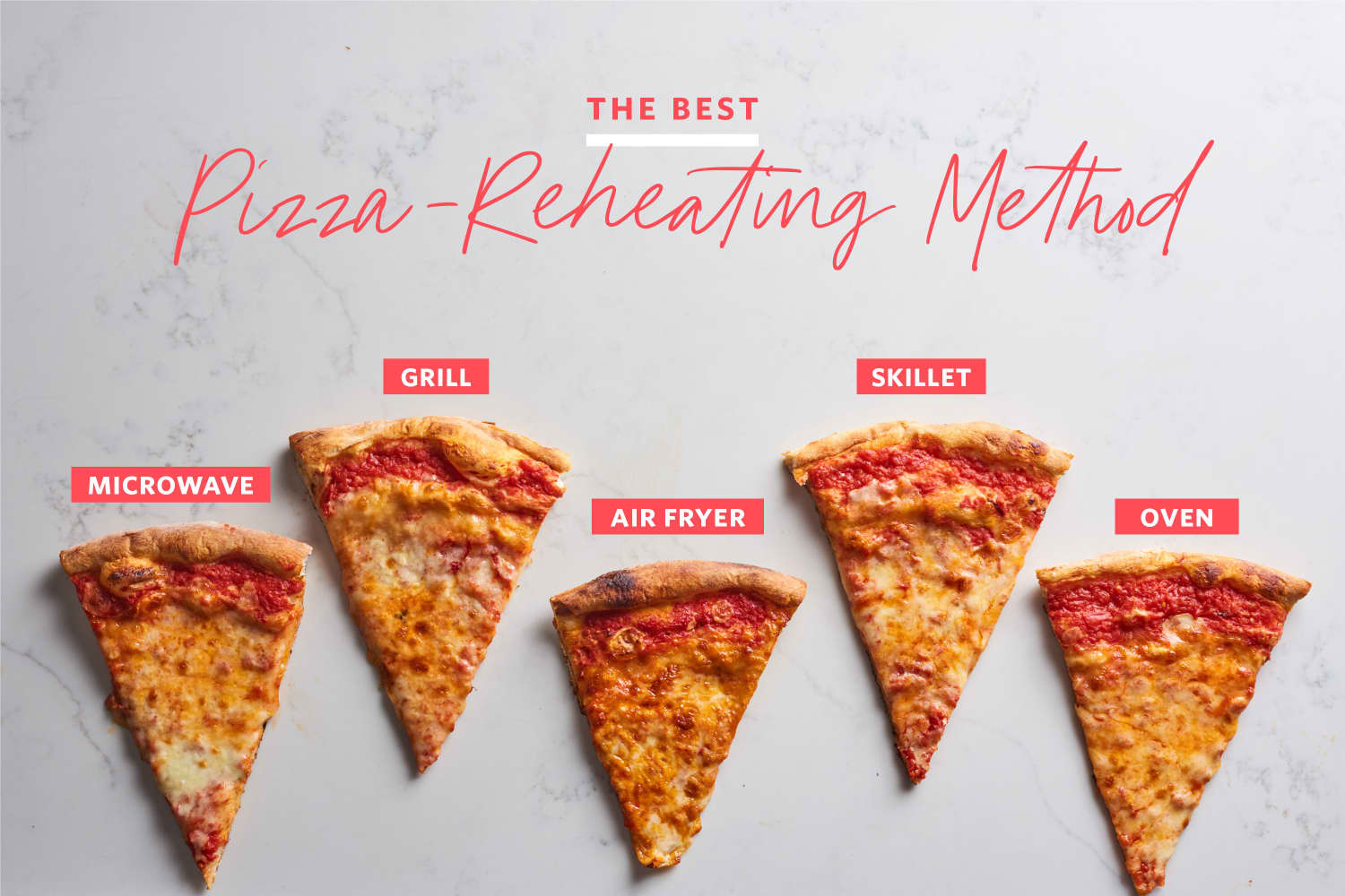 We Tried 5 Methods of Reheating Pizza — And Found a Clear Winner