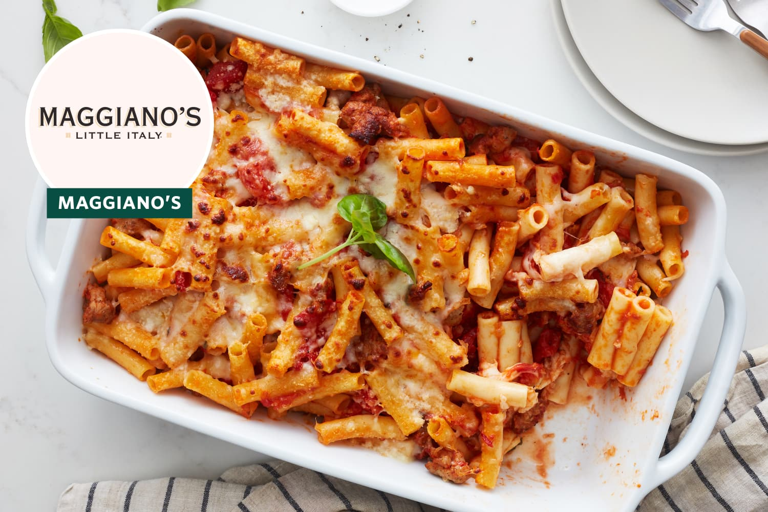 I Tried Maggianos' Famous Baked Ziti Recipe (It Takes Just 25 Minutes to Make)