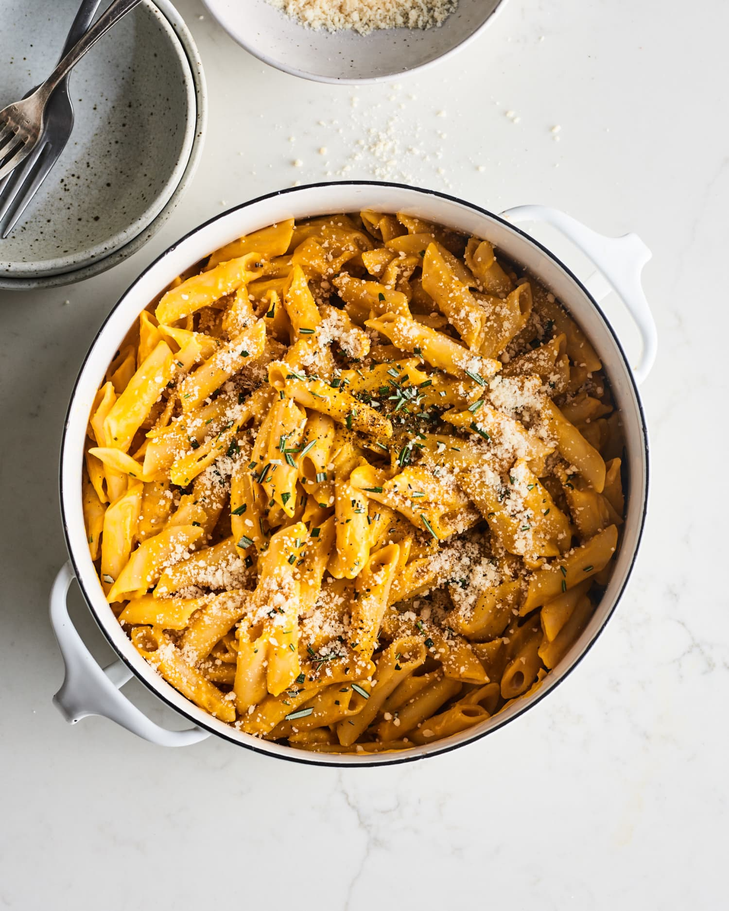 One-Pot Creamy Pumpkin Pasta Is Ready in 15 Minutes