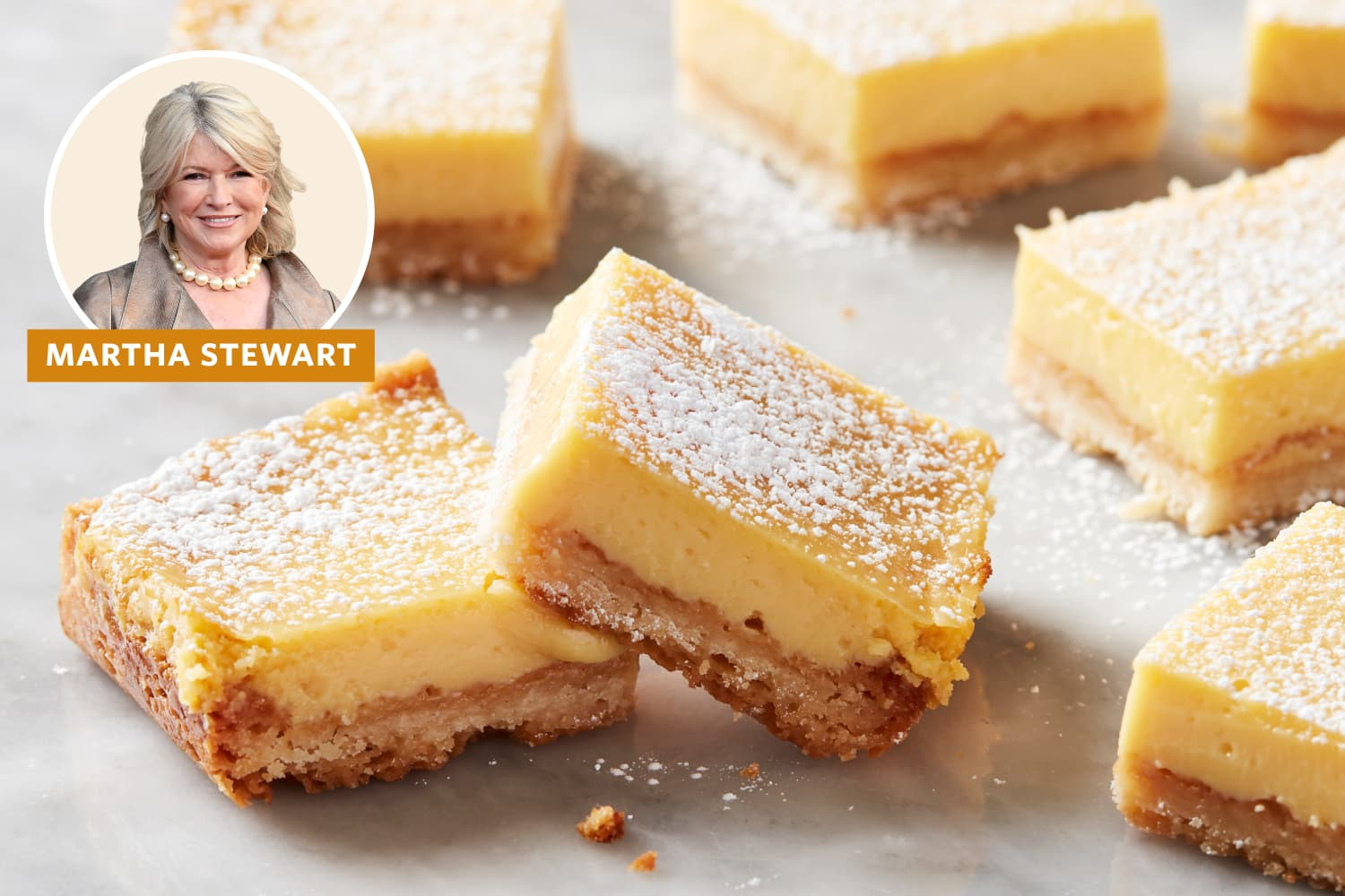The $3 Pantry Ingredient That Makes Martha Stewart's Lemon Bars So Good