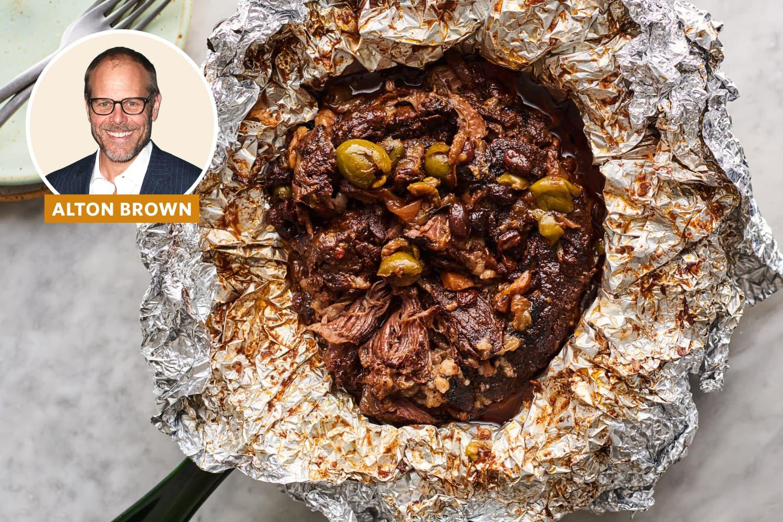 Alton Brown's Nontraditional Pot Roast Surprised Me