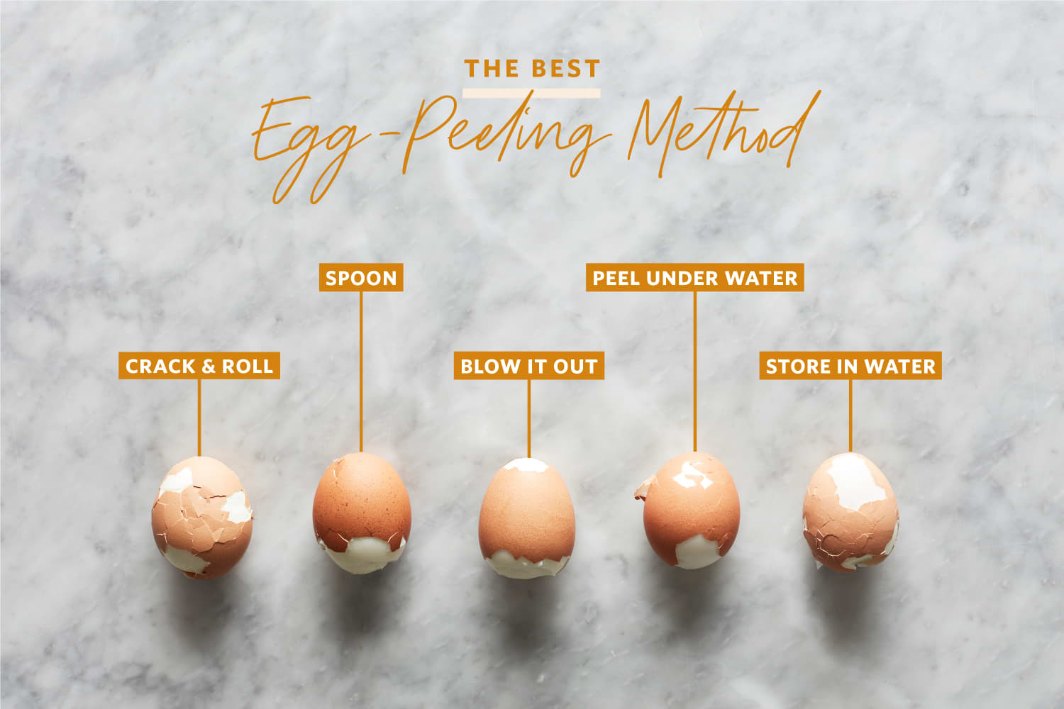 We Tried 6 Tricks for Peeling Eggs and Found a Clear Winner