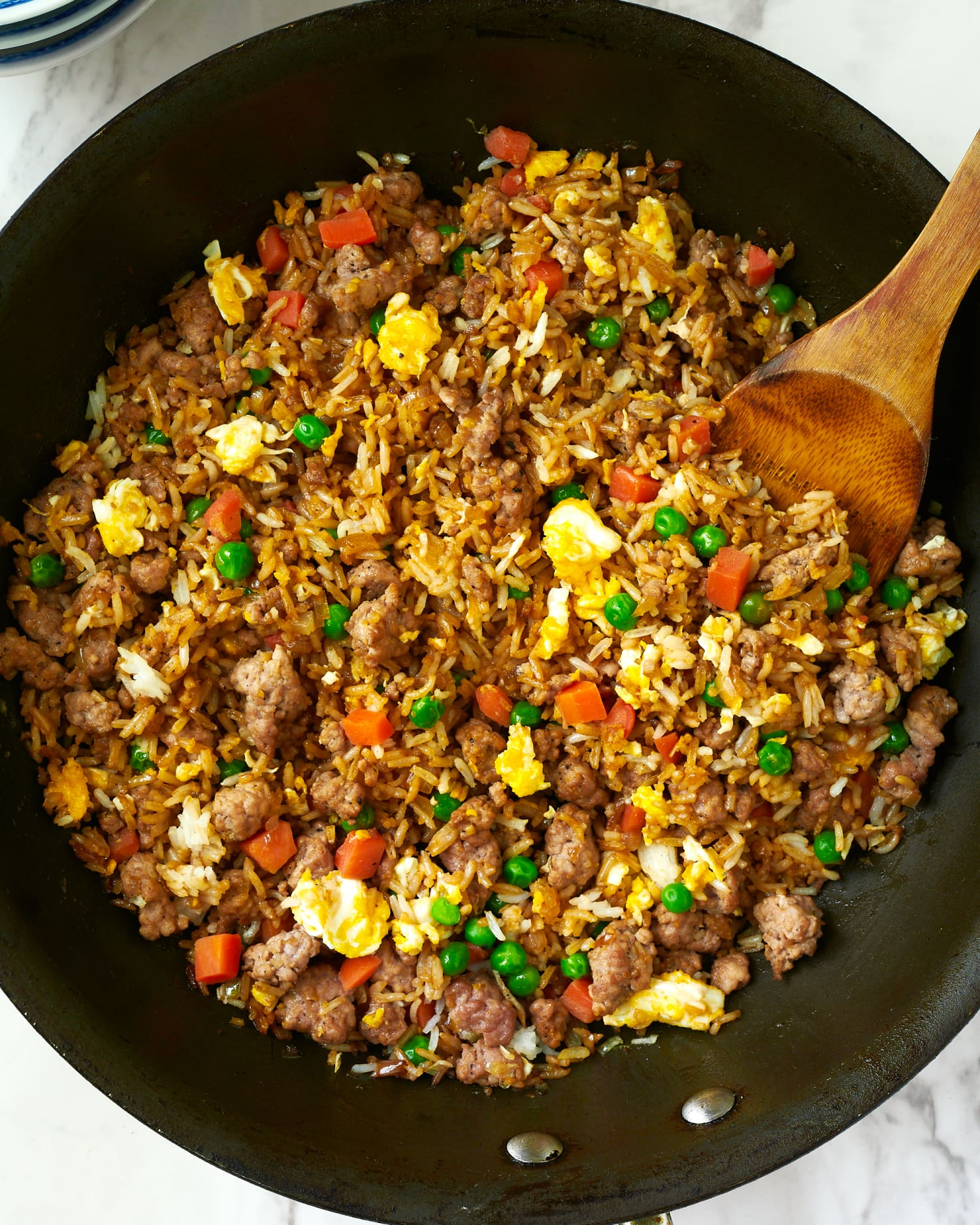 This Pork Fried Rice Is Ready in 15 Minutes