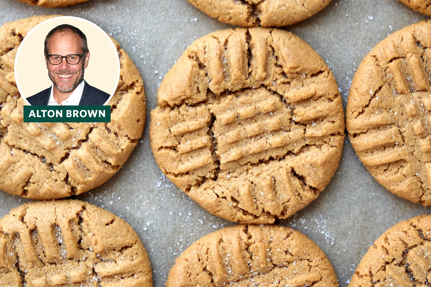 Alton Brown's Peanut Butter Cookies Are Shockingly Simple Yet Seriously Delicious