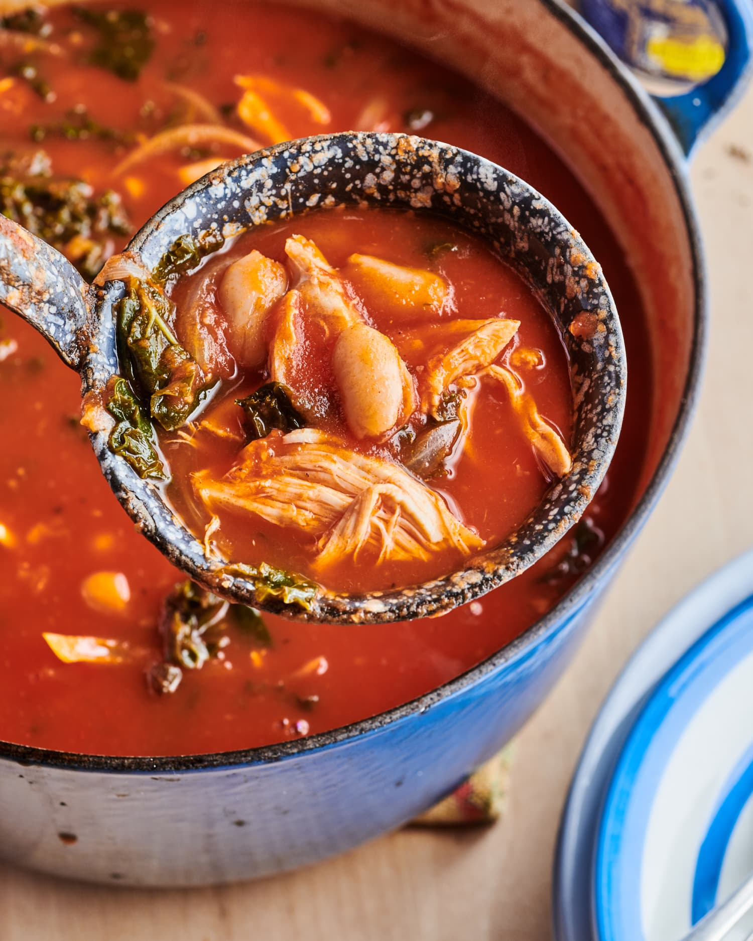 Pair This Chicken Tomato Soup with Crusty Bread, and Dinner Is Done