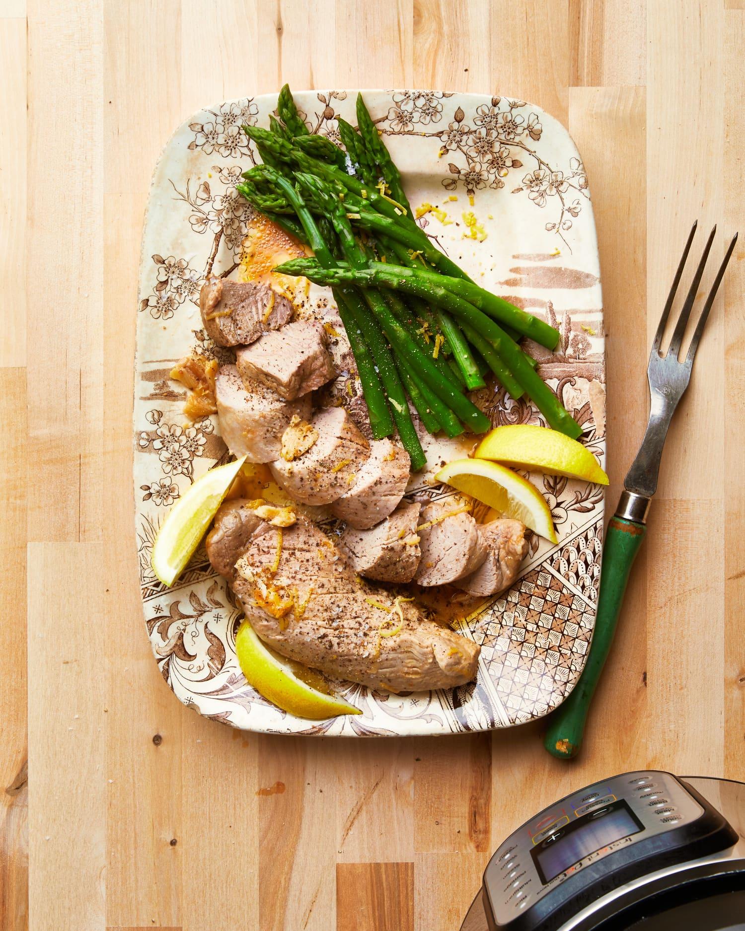 Instant Pot Lemon Garlic Butter Pork Tenderloin Is Tender, Juicy Perfection