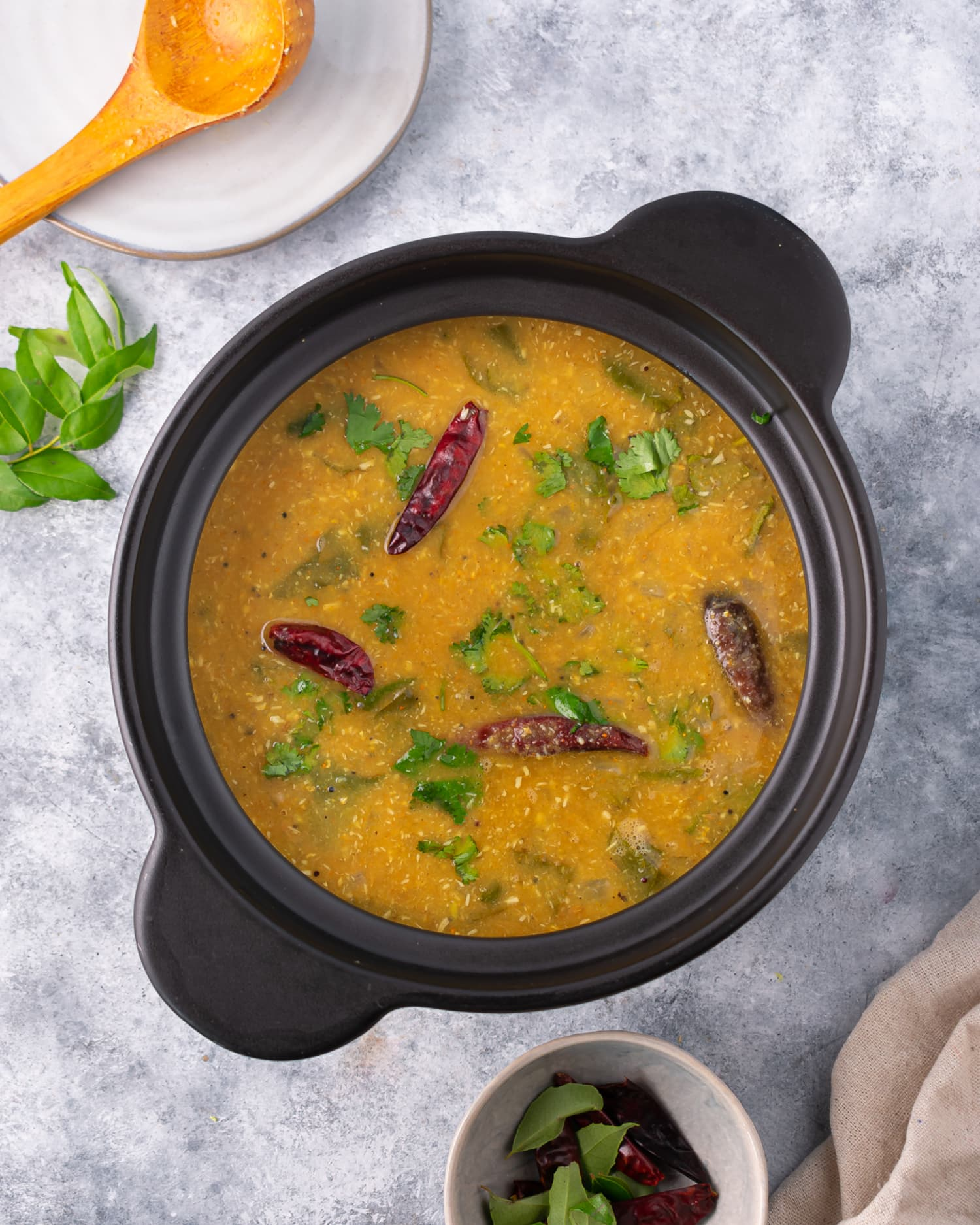 This South Indian Sambar Is Spicy, Tangy, and Veggie-Packed