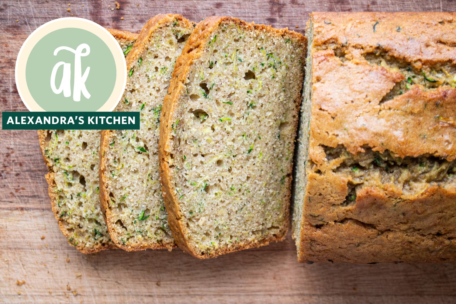"Alexandra's Kitchen's ""Super Moist"" Zucchini Bread Recipe Is a Total Game-Changer"