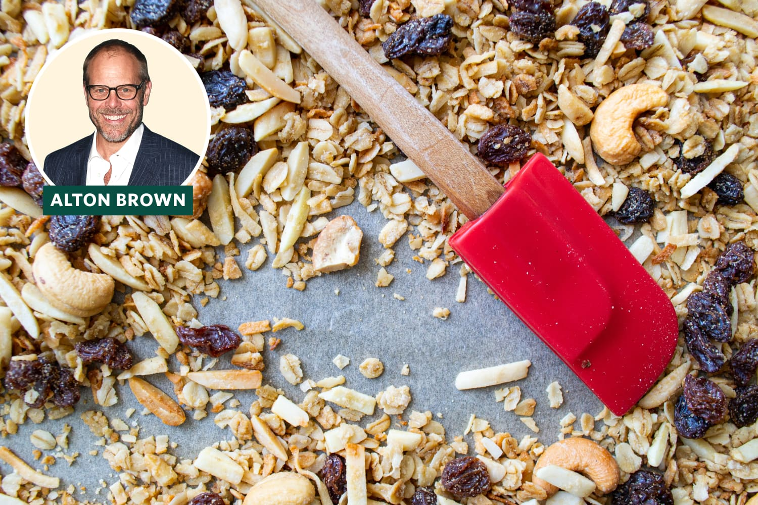 The Problem with Alton Brown's Extremely Popular Granola Recipe