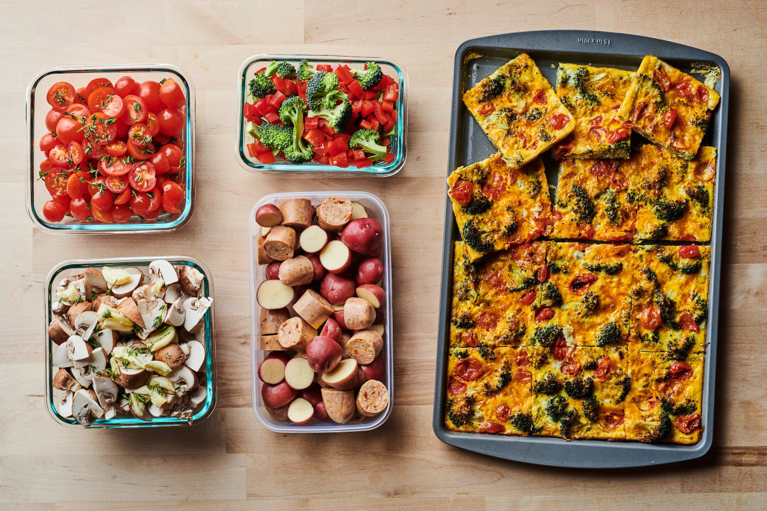 Meal Prep Plan: How I Prep a Week of Easy Sheet Pan Dinners in Just 1 Hour