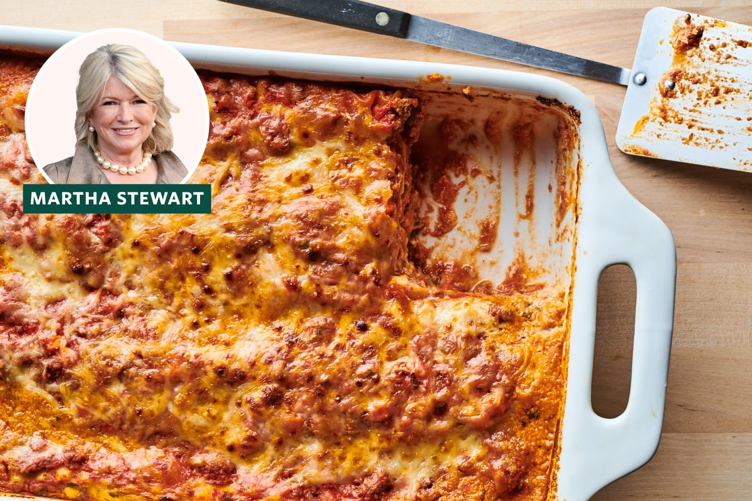 Martha Stewart's Lasagna Features a Brilliant Time-Saving Trick