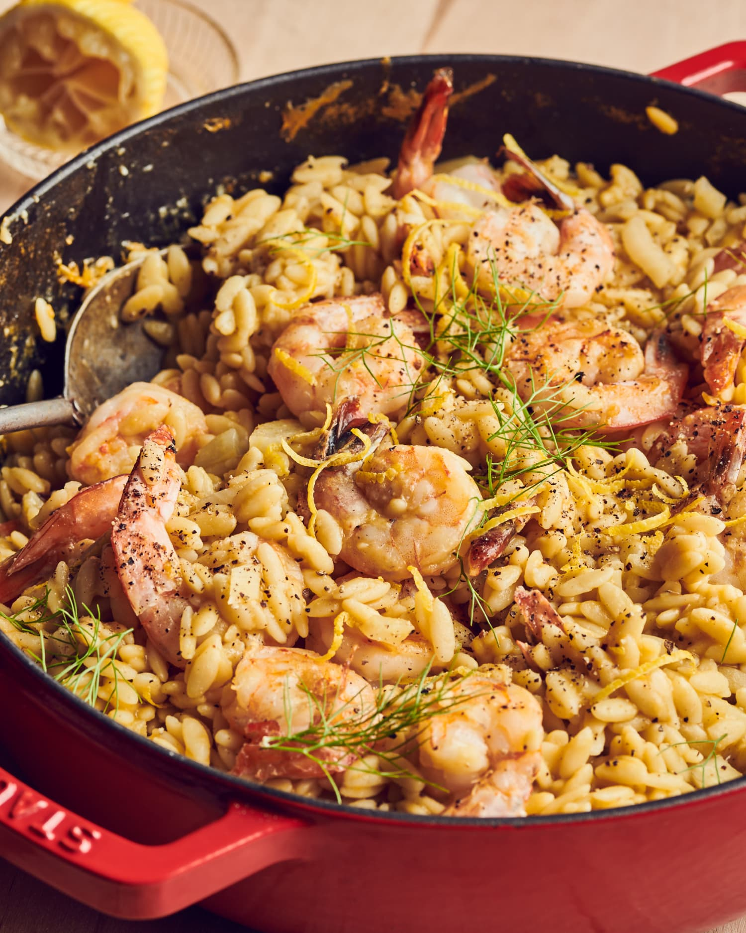 One-Pot Lemon Orzo with Shrimp Is Everything We Want to Eat Right Now