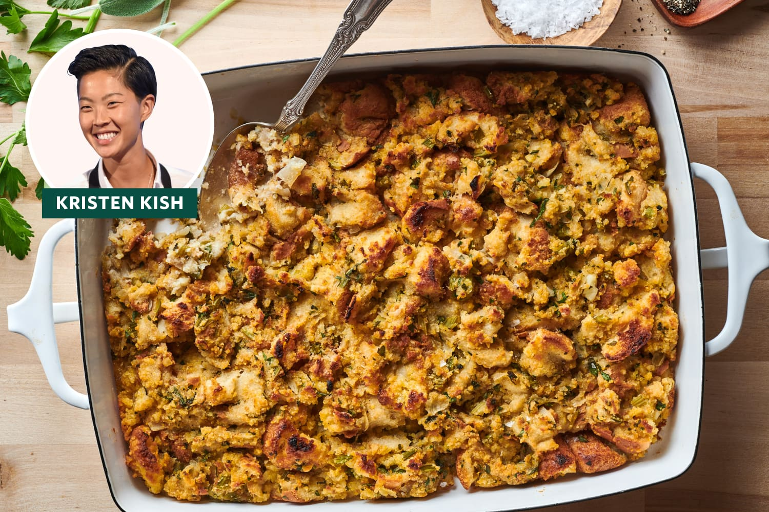 This Ingenious Two-Bread Stuffing Means Nobody Has to Compromise