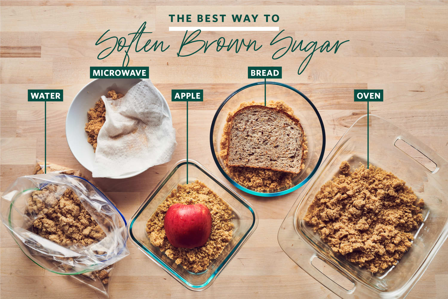 We Tried 5 Methods for Softening Brown Sugar and the Winner was Shockingly Simple
