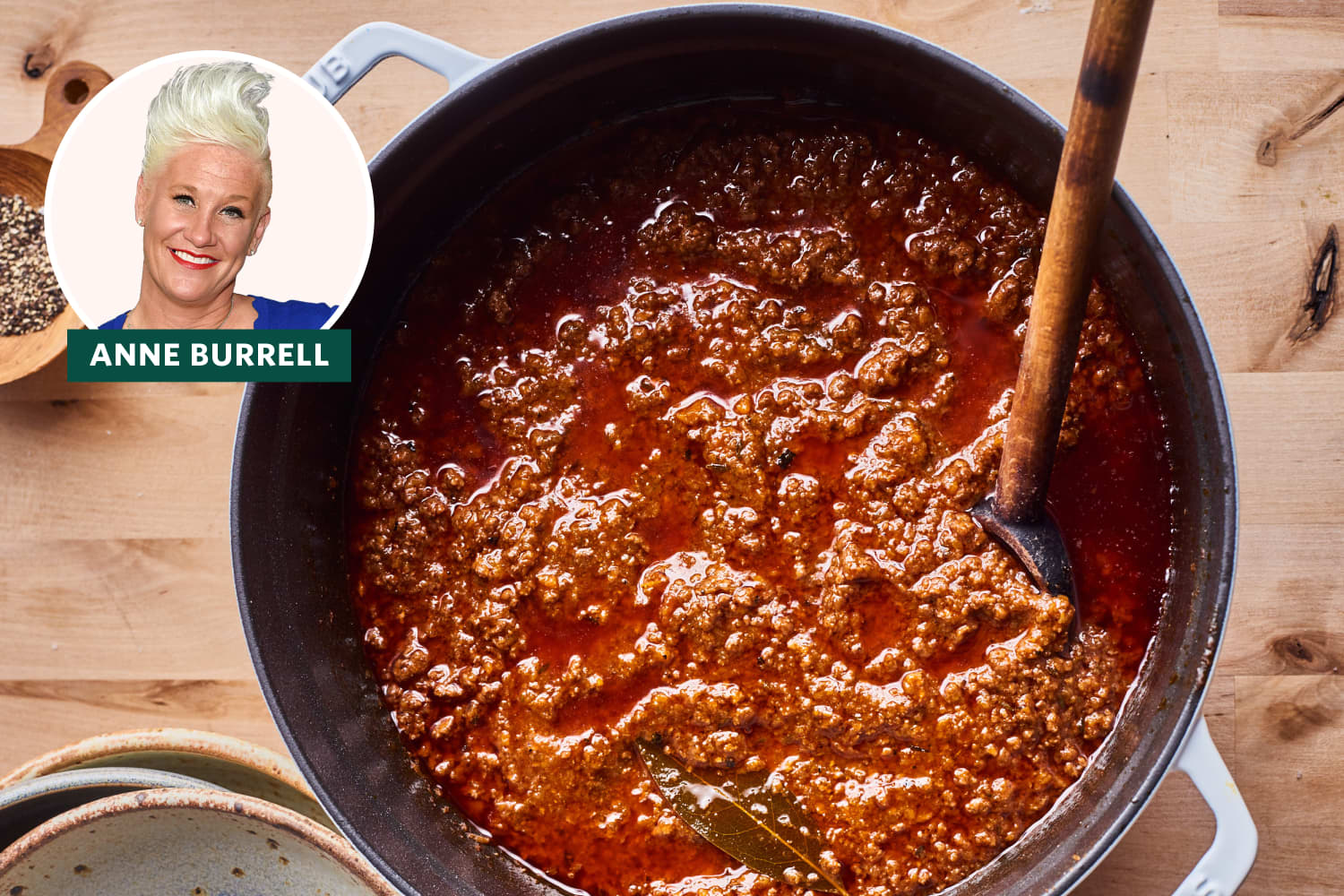 I Tried Anne Burrell's 5-Star Pasta Bolognese (It's Made with a Shocking Amount of Wine)