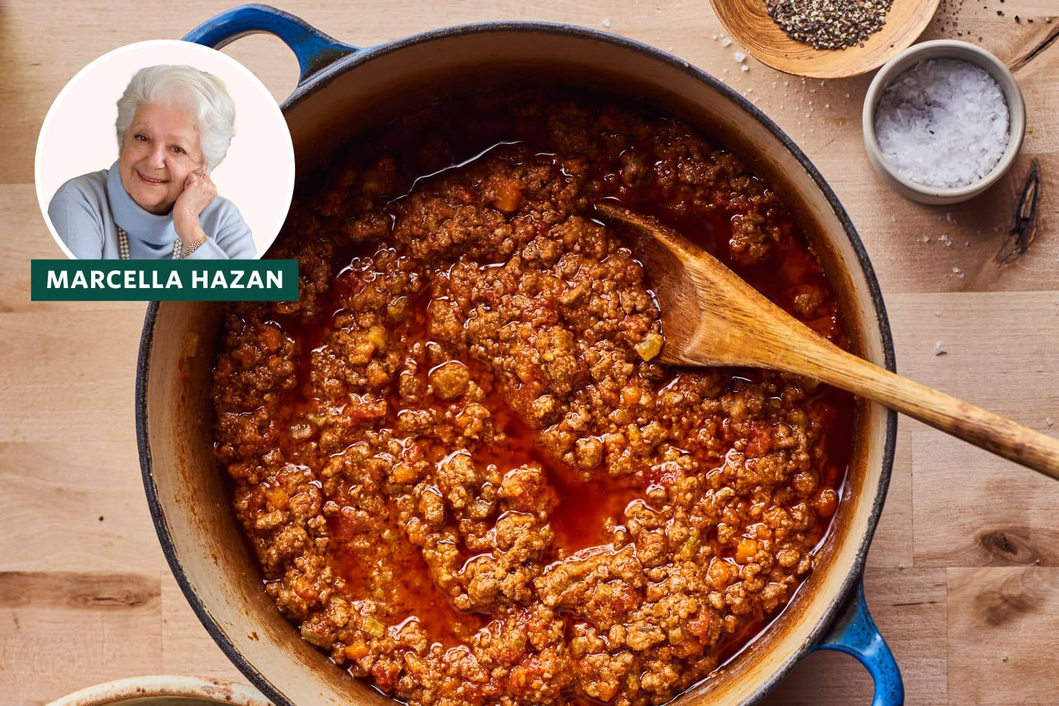 Marcella Hazan's Bolognese Sauce Confirms She's the Queen of Italian Cooking