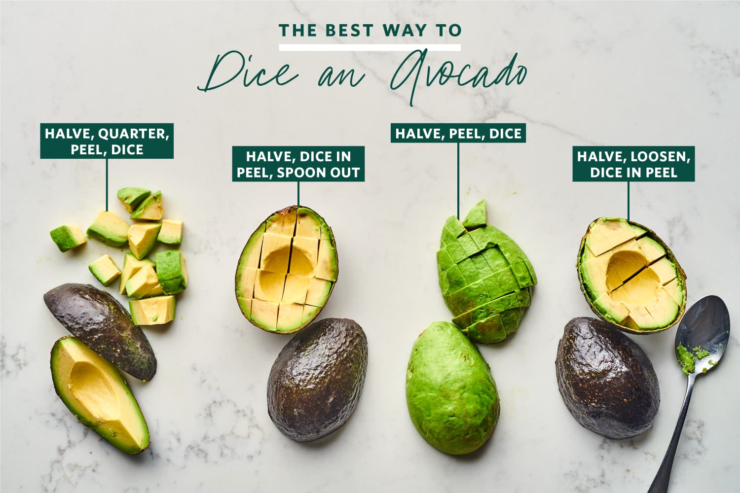 We Tried 4 Popular Methods for Dicing an Avocado and the Winner Was Also the Easiest