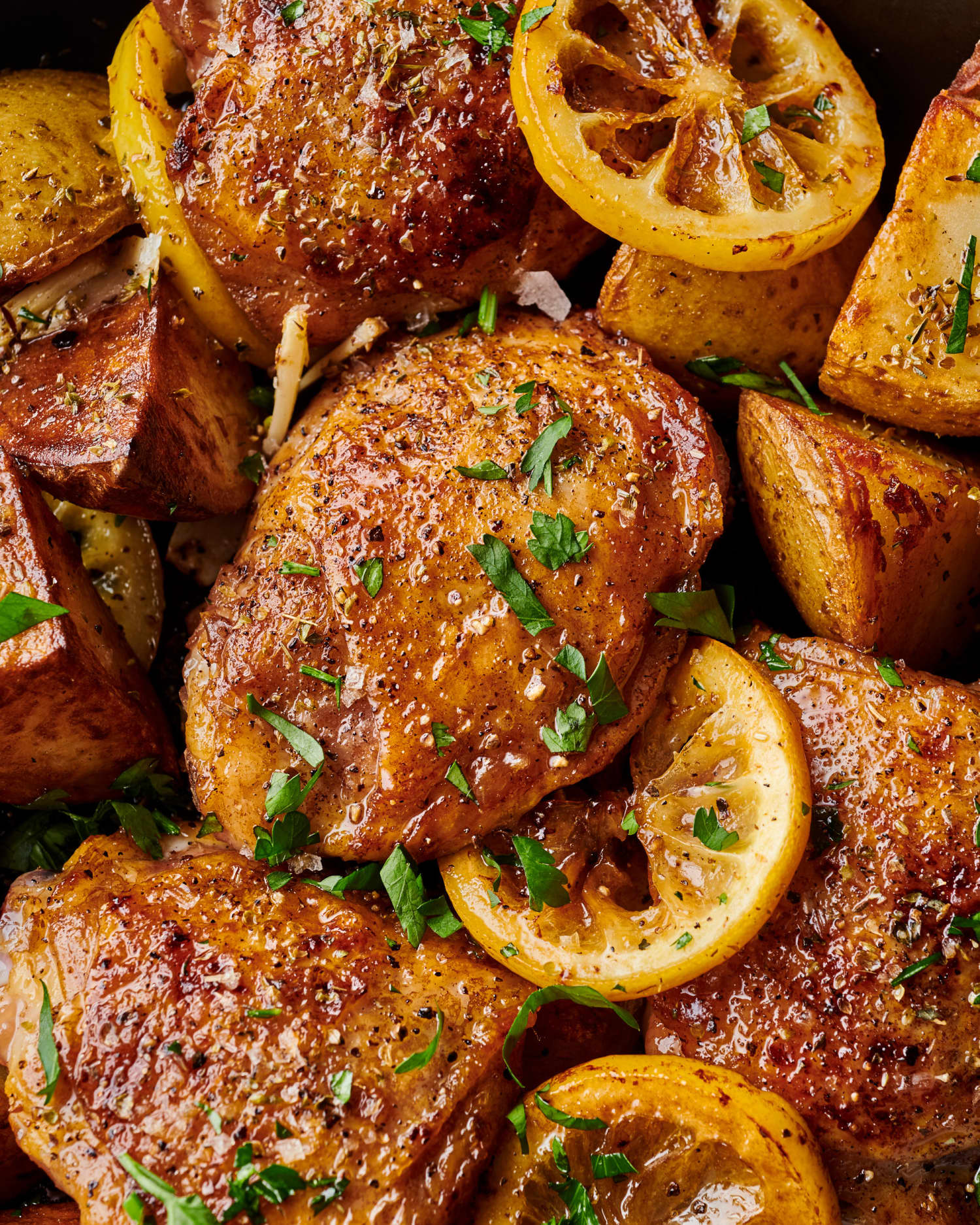 The Fastest Way to Make Greek-Inspired Chicken and Potatoes