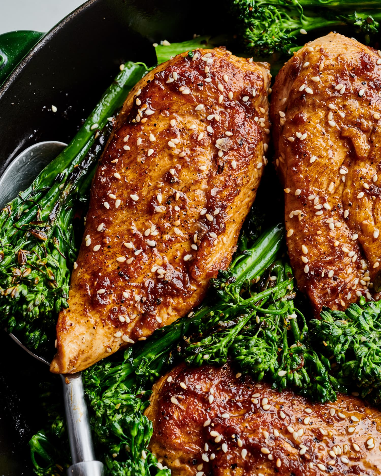 5-Ingredient Sesame-Ginger Skillet Chicken Is Always a Dinner Win