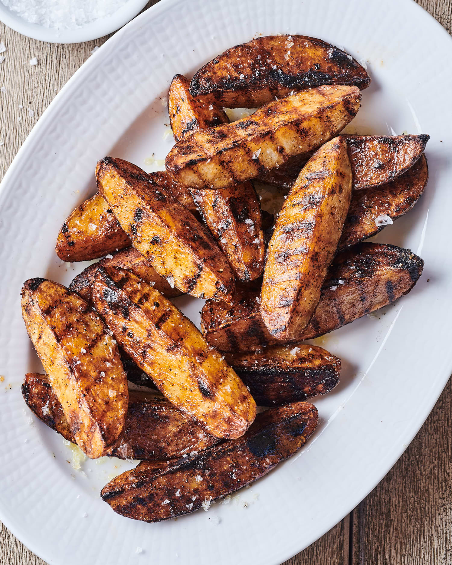 Crispy, Creamy Grilled Potato Wedges are the Perfect Summer Side (Just 3 Ingredients!)
