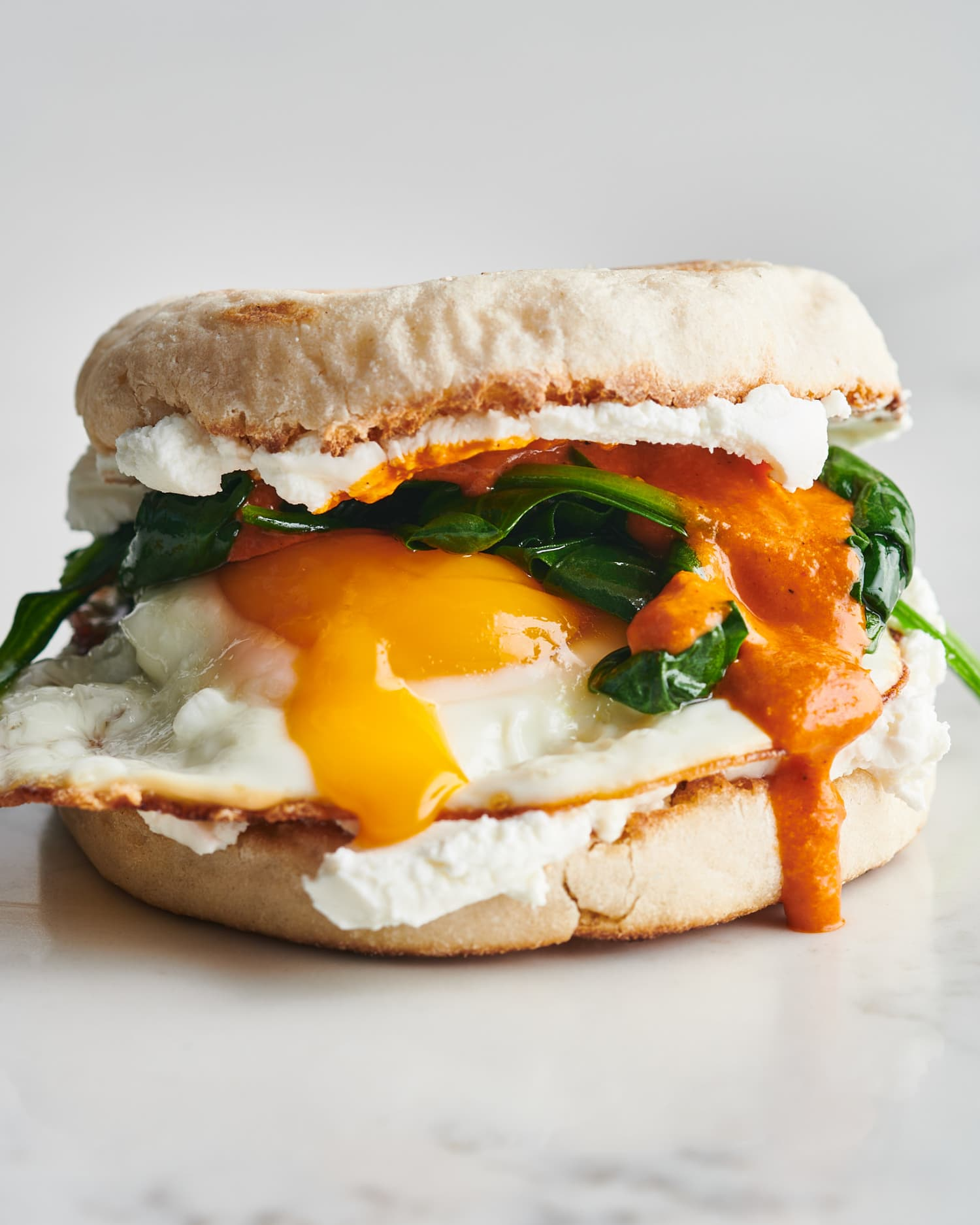 I Can't Get Enough of This Vegetarian Breakfast Sandwich