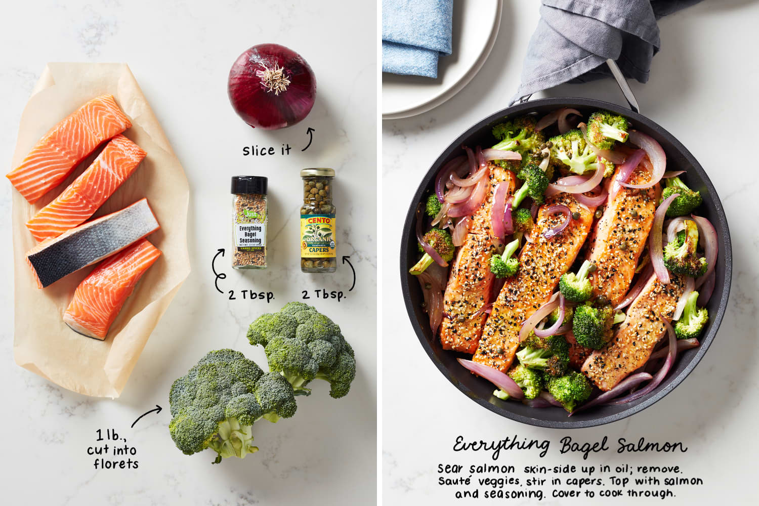 5 Quick Skillet Dinners That Start with Salmon