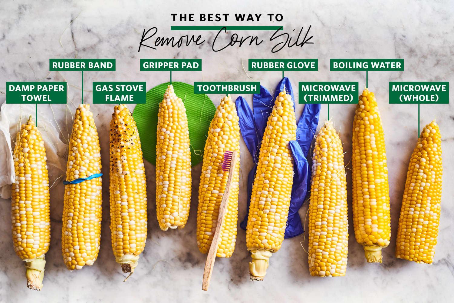 We Tried 9 Ways to Shuck Corn (and Really Get the Silk Off!) and Found a Clear Winner