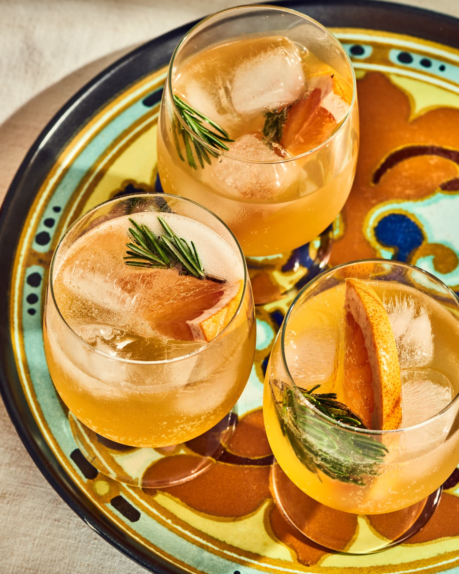 Sangria Shrub Punch Is Spritzy and Celebratory