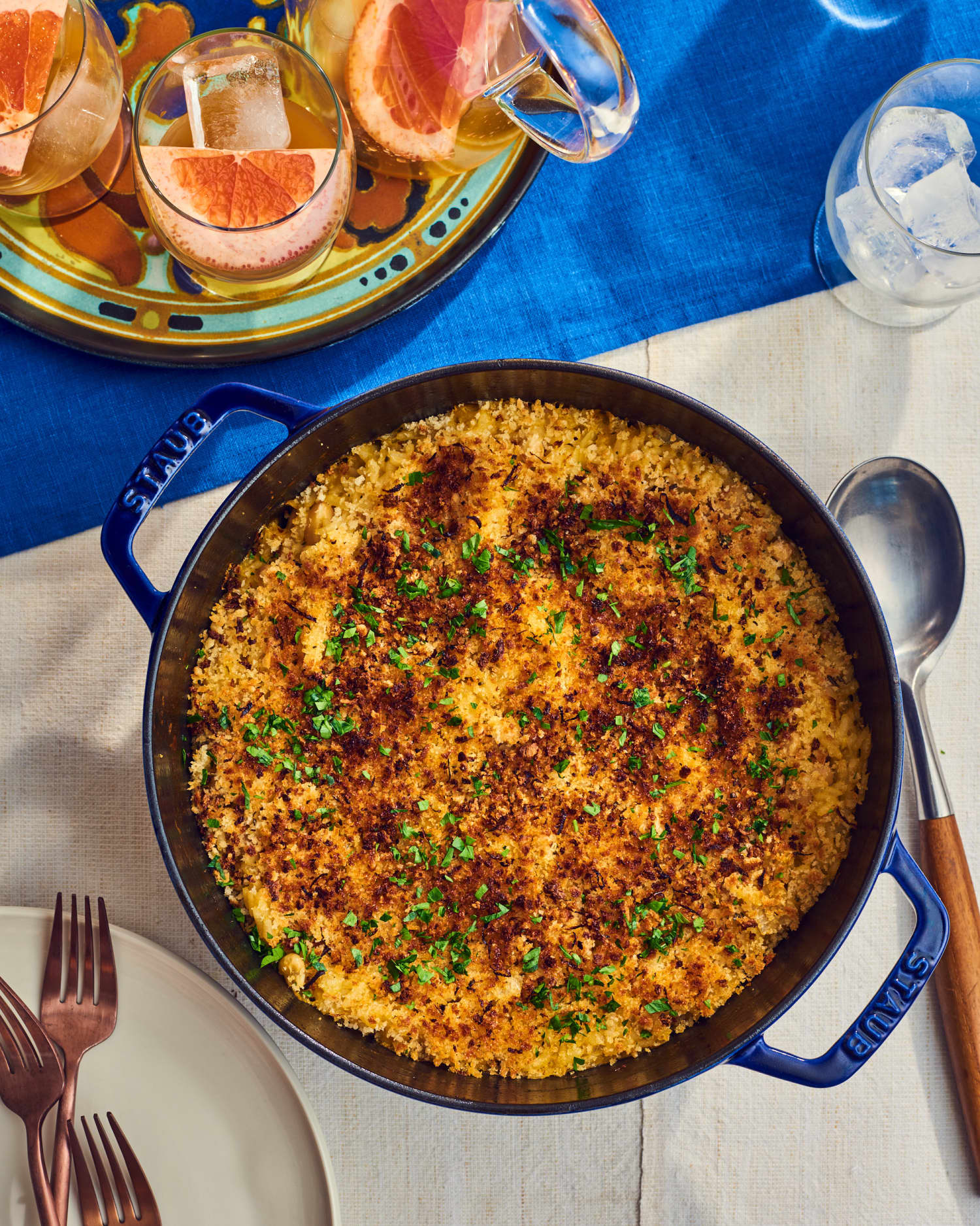 Crispy, Creamy Baked Risotto Is a No-Stress, Flavor-Packed Win
