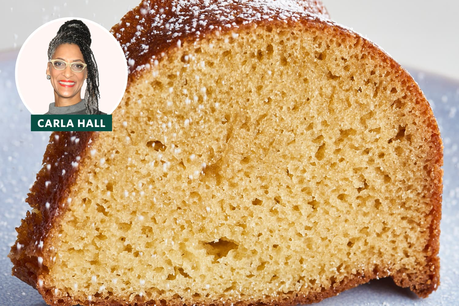 I Tried Carla Hall's Five-Flavor Pound Cake (It's One of Her Family's Favorite Desserts)