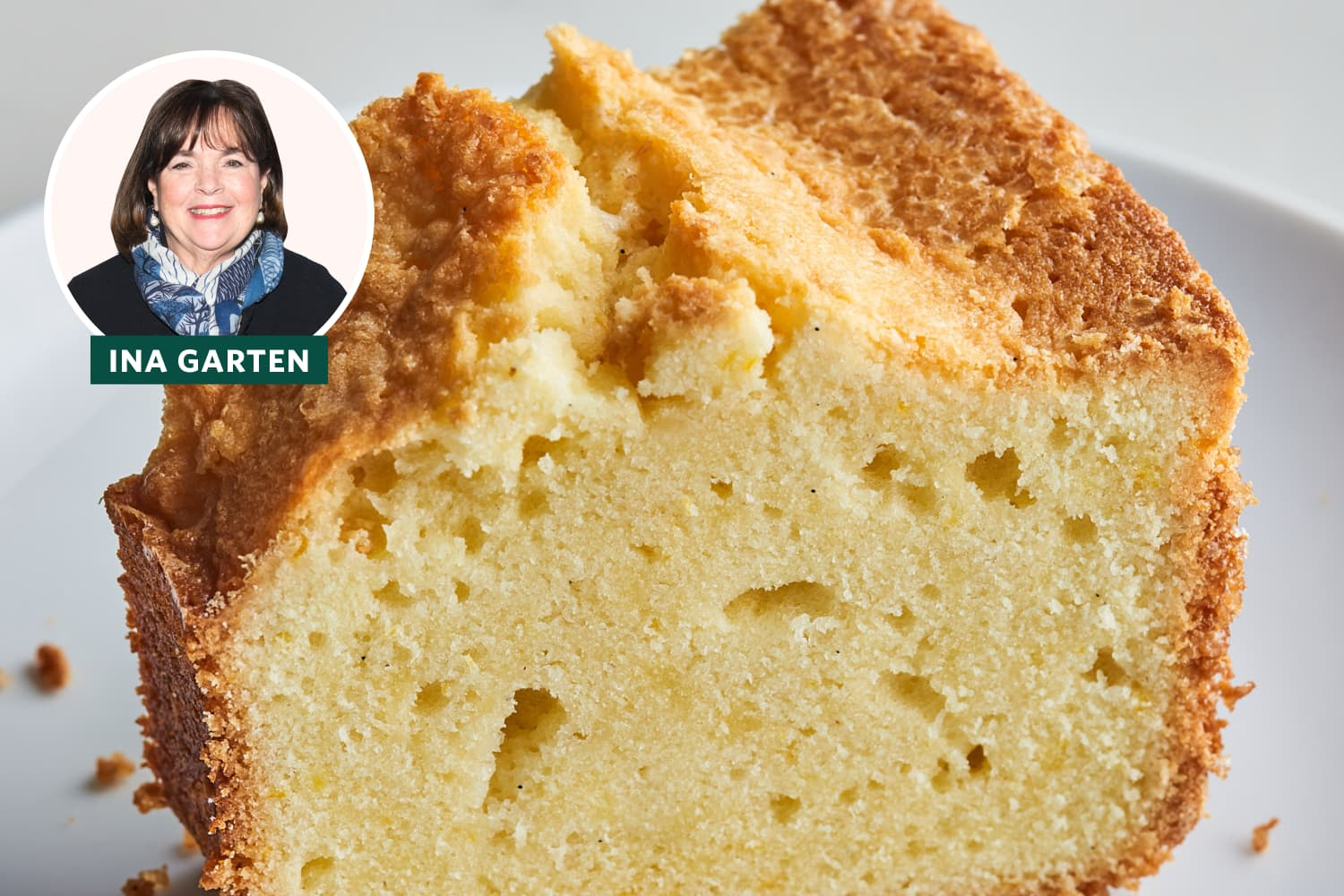 """Ina Garten's """"Perfect"""" Pound Cake Lives Up to Its Name (I'm Completely Smitten)"""